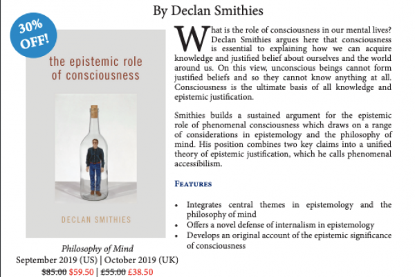 Synopsis of The Epistemic Role of Consciousness