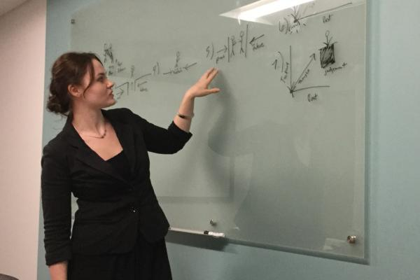 Miranda McKinney defends research thesis